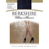 Berkshire Women's Queen Ultra Sheer Control Top Pantyhose - Sandalfoot 4411