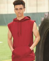 Badger Sleeveless Performance Fleece Hooded Pullover 1430