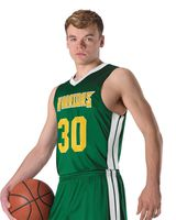 Alleson Athletic Youth Single Ply Basketball Jersey A00114