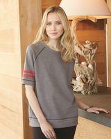 Alternative Women's Vintage French Terry Fifty Yardliner Sweatshirt 5066