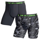 Champion Men's Ultra Lightweight Regular Leg Boxer Brief 2-Pack CHLWA2