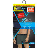 Hanes Men's Red Label X-Temp Fashion Boxer Brief 6-Pack 973XF6