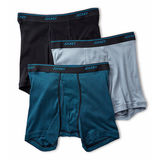 Jockey Men's Tailored Essentials Staytcool+ Boxer Brief - 3 Pack 8331