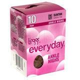 L'eggs Everyday Ankle High 10-Pair 39200
