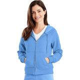 Hanes Women's EcoSmart Cotton-Rich Full-Zip Hoodie Sweatshirt W280