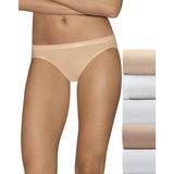 Hanes Ultimate Comfort Cotton Womens Bikini Panties 5-Pack 42HUCC