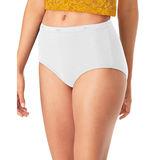 Hanes Cool Comfort Women's Cotton Brief Panties 6-Pack PP40WH