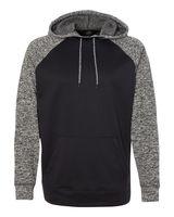 J. America Colorblock Cosmic Fleece Hooded Pullover Sweatshirt 8612