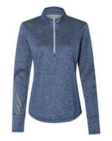 Adidas Women's Brushed Terry Heather Quarter-Zip A285