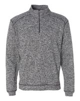 J. America Cosmic Fleece Quarter-Zip Pullover Sweatshirt 8614