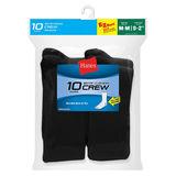 Hanes Boys Crew EZ Sort Socks 10-Pk 421/10