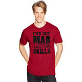 Hanes Mens Mad Skills Graphic Tee GT49E/H3