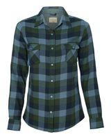 Weatherproof Vintage Women's Brushed Flannel Long Sleeve Shirt W164761