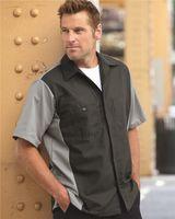 Red Kap Short Sleeve Automotive Crew Shirt - Long Sizes SY20L