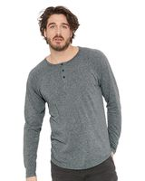 Next Level Triblend Long Sleeve Henley 6072