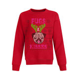 Hanes Girls' Ugly Christmas Sweatshirt OK293