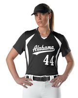 Alleson Athletic Girls' Short Sleeve Fastpitch Jersey A00055