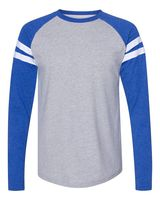 LAT Fine Jersey Mash Up Long Sleeve Tee 6934