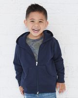 Rabbit Skins Toddler Full-Zip Fleece Hooded Sweatshirt 3346