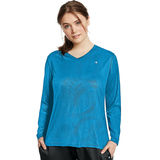 Champion Vapor Women's Plus Long-Sleeve Tee QW1036