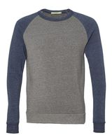 Alternative Eco-Fleece Champ Colorblocked Crewneck Sweatshirt 32022