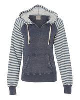 MV Sport Women's Angel Fleece Sanded Piper Hooded Sweatshirt W15106