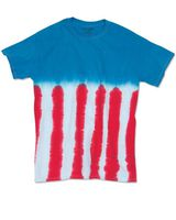 Dyenomite Youth Flag Tie Dye T-Shirt 20BUS