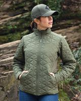 Holloway Women's Repreve® Eco Quilted Jacket 229716