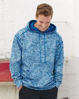 Badger Blend Polyester Fleece Performance Hooded Sweatshirt 1463