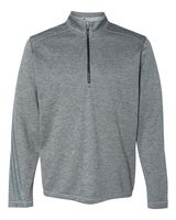 Adidas Brushed Terry Heather Quarter-Zip A284
