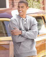 J. America Sport Lace Crewneck Sweatshirt 8430