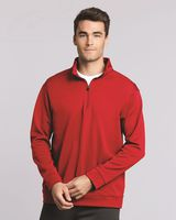 Gildan Performance Tech Quarter-Zip Pullover Sweatshirt 99800