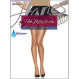 Hanes Silk Reflections Non-Control Top Reinforced Toe Pantyhose 716
