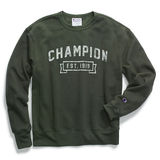 Champion Men's Heritage Fleece Crew, Logo with 1919 S1230 549298
