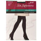 Hanes Silk Reflections Blackout Control Top Tights 0B318