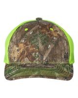 Outdoor Cap Camo Cap with Neon Mesh Back CNM100M