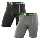 Champion Men's Tech Performance Long Leg Boxer Brief 2-Pack CHTLA2