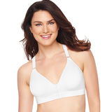 Hanes Women's Front Close Foam Wirefree Bra MHG535