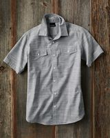 Burnside Textured Solid Short Sleeve Shirt 9247