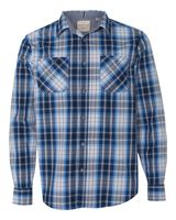 Weatherproof Vintage Plaid Long Sleeve Shirt 154645