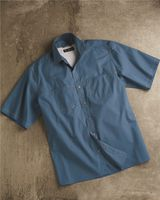 DRI DUCK Guide Cotton Poplin Short Sleeve Shirt 4357