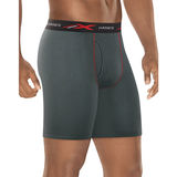 Hanes Men's Xtemp Mesh Long Leg Boxer Brief 2X 3-Pack XTMLA3