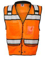 ML Kishigo High Performance Surveyors Snap Vest S5006-5007