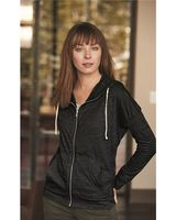 Alternative Women's Eco-Jersey Cool Down Hooded Full-Zip 2896