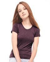 American Apparel Women's 50/50 Poly/Cotton T-Shirt BB301W