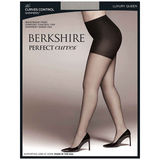 Bekshire Queen Perfect Curves Control Ultra Sheer Shimmers Pantyhose 5023
