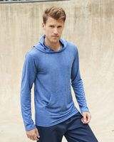 Gildan Performance® Hooded Long Sleeve T-Shirt 46500