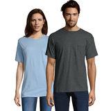 Hanes TAGLESS Pocket T-Shirt 5590