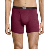Hanes Men's 1901 Heritage Dyed Boxer Briefs Assorted 4-Pack 191BB4
