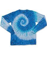 Dyenomite Ripple Tie Dye Long Sleeve 240RP